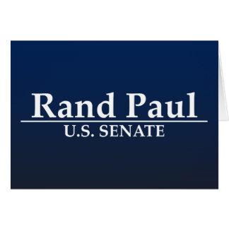 ランドのポール米国の上院 カード