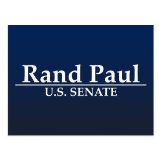 ランドのポール米国の上院 ポストカード