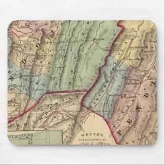 ランドルフのペンドルトン郡の地図 マウスパッド