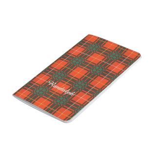 ランドルフの一族の格子縞のスコットランドのキルトのタータンチェック ポケットジャーナル