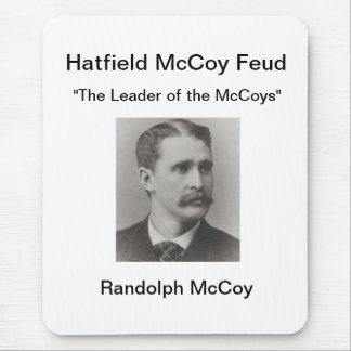 ランドルフマッコイHatfieldマッコイの確執のマウスパッド マウスパッド
