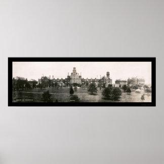 ランドルフメーコンの大学写真1907年 ポスター