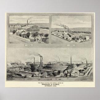 ランドルフ及びClowes、Waterbury ポスター