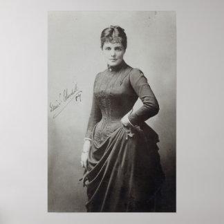 ランドルフChurchill女性 ポスター