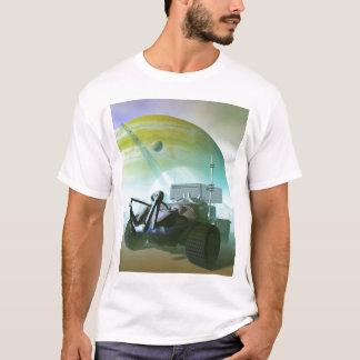 ランドローバーのロボティックTシャツ Tシャツ