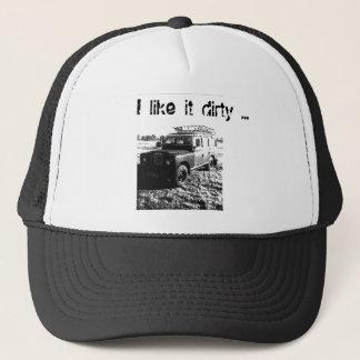 ランドローバーの帽子。 私はそれを汚れた…好みます キャップ