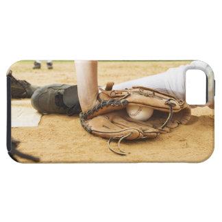 ランナーに付ける野球選手の手袋 iPhone SE/5/5s ケース