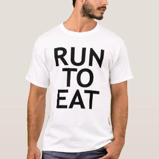 ランナーのmicrofiberのワイシャツ tシャツ