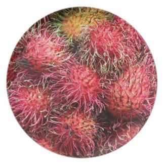 ランブータンのフルーツ プレート