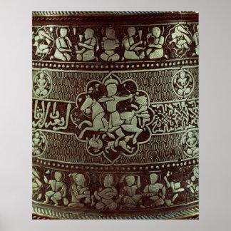 ランプからの詳細、エジプトから、1282年 ポスター