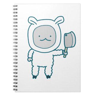 ランプのチョップのノート ノートブック