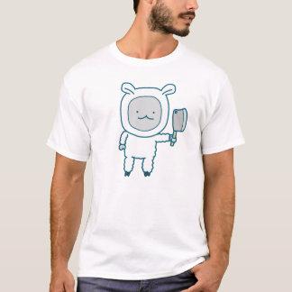 ランプのチョップの人の基本的なTシャツ Tシャツ