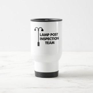 ランプのポストの調査団 トラベルマグ