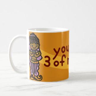 ランプの油の容器 コーヒーマグカップ