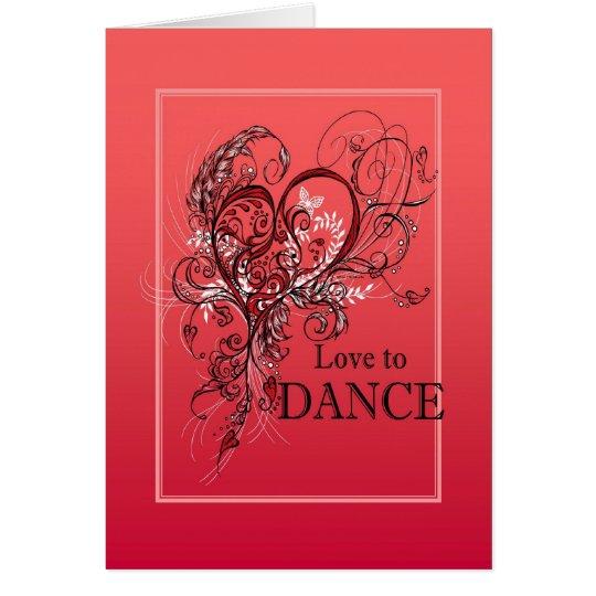 ラヴ・トウ・ダンス グリーティングカード カード