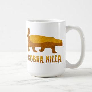 ラーテルのコブラKilla コーヒーマグカップ