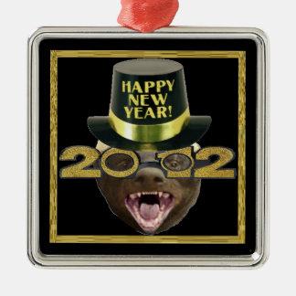 ラーテルの明けましておめでとう2012のオーナメント メタルオーナメント