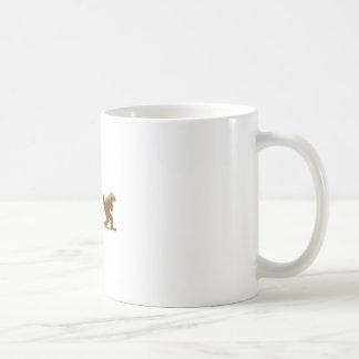 ラーテルのsquatchのsquatchyアナグマ コーヒーマグカップ
