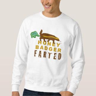ラーテルは屁をしました スウェットシャツ
