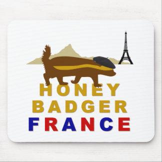 ラーテルフランス マウスパッド