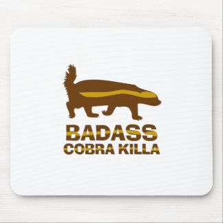 ラーテル- BadassのコブラKilla マウスパッド