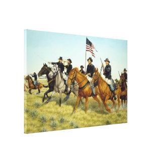 ラーフヘインツ著プレーリードッグの入り江の戦い キャンバスプリント