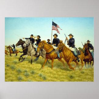 ラーフヘインツ著プレーリードッグの入り江の戦い ポスター
