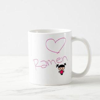 ラーメンの女の子 コーヒーマグカップ