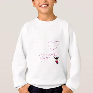 ラーメンの女の子 スウェットシャツ