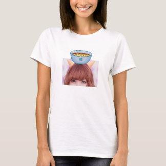 ラーメンのraina tシャツ