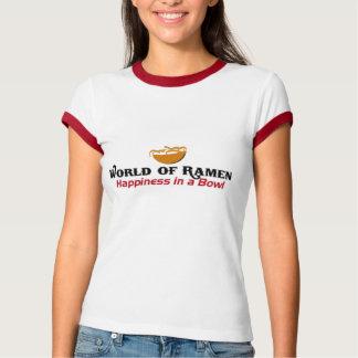 ラーメンのTシャツの世界 Tシャツ