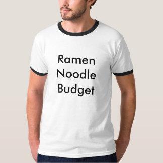 ラーメンヌードルの予算 Tシャツ