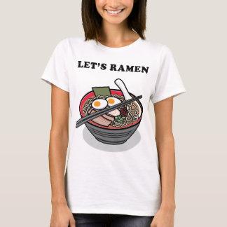 ラーメンヌードル Tシャツ