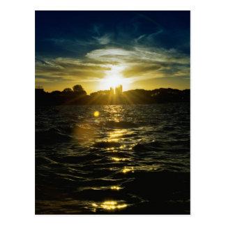 ラ・プラタの日没 ポストカード