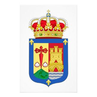 ラ・リオハ(スペイン)の紋章付き外衣 便箋