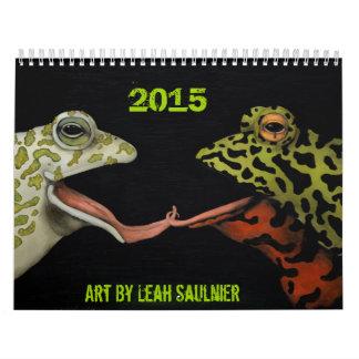 リアSaulnier著2015のカレンダーの芸術 カレンダー