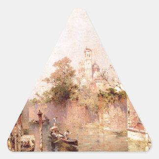 リオサンタBarnaba、フランツリチャード著ベニス 三角形シール