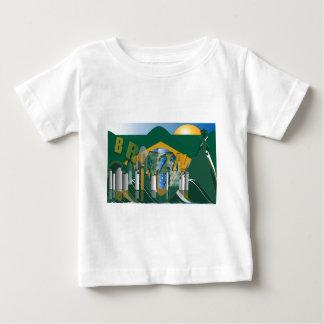 リオデジャネイロのスカイライン ベビーTシャツ
