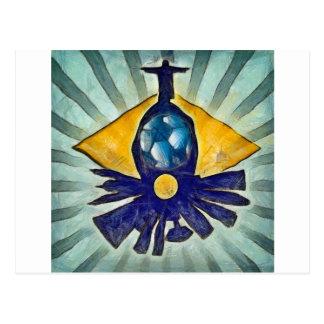 リオデジャネイロのスカイライン ポストカード