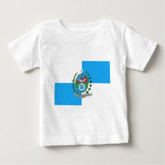 リオデジャネイロの旗 ベビーTシャツ