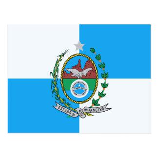 リオデジャネイロの旗 ポストカード