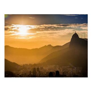 リオデジャネイロの日の出 ポストカード