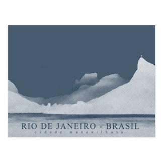 リオデジャネイロの景色 ポストカード