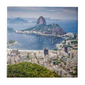 リオデジャネイロの空中写真 タイル