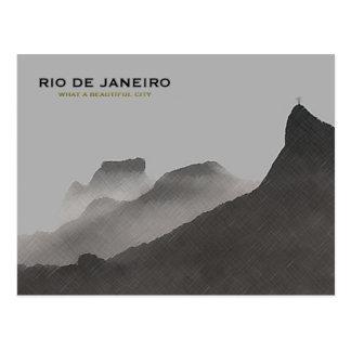 リオデジャネイロの美しい都市 ポストカード