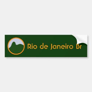 リオデジャネイロのBr バンパーステッカー