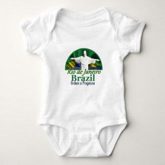 リオデジャネイロブラジル ベビーボディスーツ