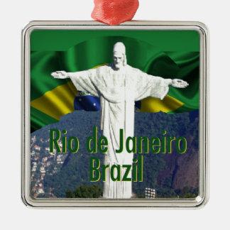 リオデジャネイロブラジル メタルオーナメント