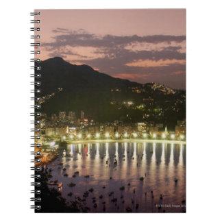 リオデジャネイロ、ブラジルの夜 ノートブック