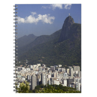 リオデジャネイロ、ブラジルを見落とすCorcovado ノートブック